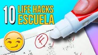 Download 😰 ¡¡CAMBIA TU NOTA!! ✍️ 10 TRUCOS o LIFE HACKS para la ESCUELA que deberías saber 🙋 Video