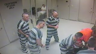 Download Texas Inmates Break Out Of Cell To Save Guard (Video) Video