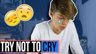 Download TRY NOT TO CRY CHALLENGE!! (ACTUAL TEARS) Video