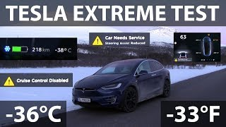 Download Model X extreme testing in -36°C/-33°F Video