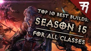 Download Top 10 Best Builds for Diablo 3 2.6.1 Season 15 (All Classes, Tier List) Video
