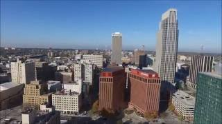 Download Flying over Omaha, NE, USA - HD Photography Drone Video