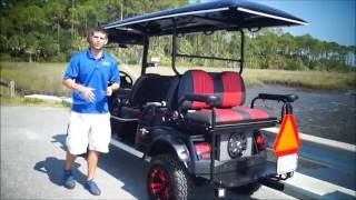 Download Custom Lifted Golf Cart- 6 Passenger Lifted Highriser From Moto Electric Vehicles Video