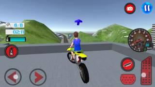 Download Kids MotorBike Roof Top Stunts Video