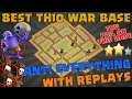 Download Clash of Clans: BEST TH10 WAR BASE ! ANTI EVERTHING ! TH11 FAIL ON THIS BASE ! REPLAY ! Video
