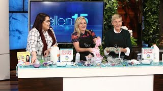 Download Ellen and Reese Witherspoon Get Slimed Video