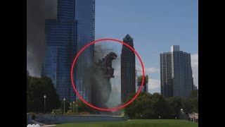 Download 10 GODZILLA CAUGHT ON CAMERA & SPOTTED IN REAL LIFE! Video