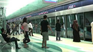 Download Dubai Metro in HD Video