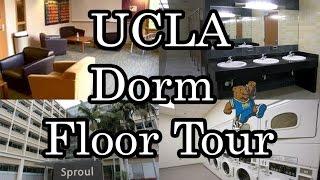 Download UCLA DORM FLOOR TOUR: Laundry rooms, bathrooms, study lounges Video