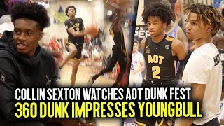 Download Collin Sexton Pulls Up To Watch Sharife Cooper & Brandon Boston + AOT CRAZY Dunk Contest IN GAME!! Video