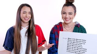 Download Merrell Twins Answer the Web's Most Searched Questions Video