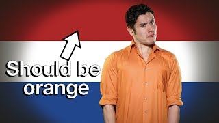 Download Flag/ Fan Friday NETHERLANDS (Geography Now!) Video
