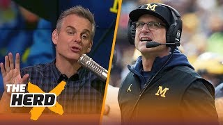 Download Colin Cowherd on rumors that Jim Harbaugh will sign a lifetime contract with Michigan | THE HERD Video