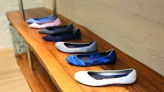 Download Shoes made from recycled plastic bottles leave eco-friendly footprint Video