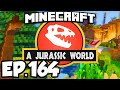 Download Jurassic World: Minecraft Modded Survival Ep.164 - NEW ICE AGE CAVE!!! (Dinosaurs Mods) Video