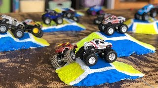 Download DIY Monster Jam Toy Track & Jumps For Hot Wheels Trucks Video