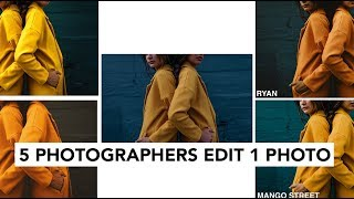Download 5 Photographers Edit The Same Photo Video