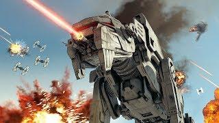 Download Star Wars The Last Jedi: Battle of Crait 4K | Battlefront 2 Cinematic Video