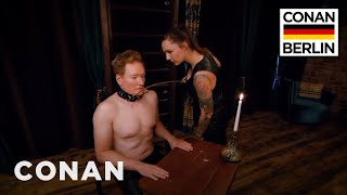 Download Conan Submits To A Dominatrix - CONAN on TBS Video
