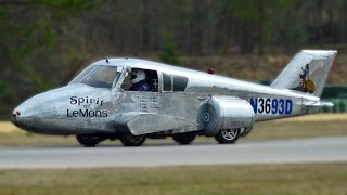 Download Cop Turns Abandoned Plane Into Street-Legal Car Video
