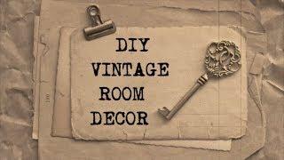 Download DIY Vintage Room Decor #2   Haley & Bronwen Video