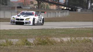 Download GTLM BMW M6 Testing at Sebring Video