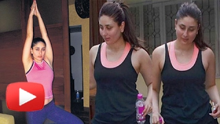 Download Kareena Kapoor Fitness Routine | Post Pregnancy Workout | Yoga For Weight Loss | Taimur Ali Khan Video