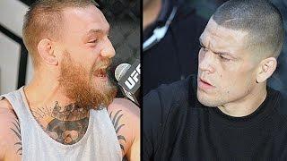 Download Conor McGregor & Nate Diaz Explode at UFC 196 Press Conference in LA (FULL) Video