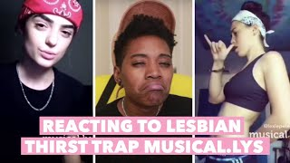 Download Reacting to Lesbians' Thirst Trappin Musical.lys Video