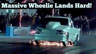 Download Nitrous S10 Massive wheelie lands hard at winter meltdown no prep Video