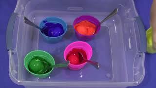 Download Golf Ball Painting Art For Preschool and Kindergarten Video