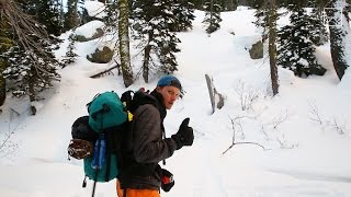Download Tahoe Snowshoeing Into The Night Video
