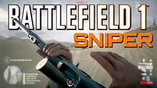 Download Battlefield 1: Martini-Henry Sniper Defense (PS4 Pro Sniping Gameplay) Video