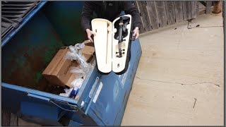 Download BUSTED Dumpster Diving on Black Friday Video