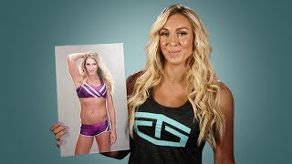 Download Charlotte recreates her embarrassing first WWE photo: WWE Then & Now Video