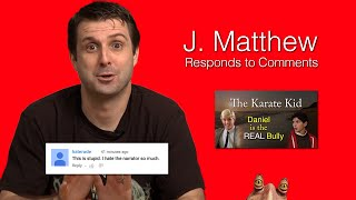 Download J. Matthew Responds to Comments Video
