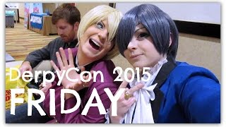 Download Vlog - DerpyCon 2015: Friday (feat. Cielois, karaoke, and a big meme in a smol package) Video