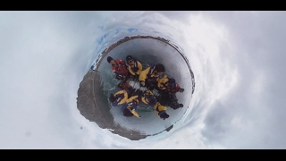 Download Antarctica 360°: Expedition to least visited part of Earth with panoramic camera Video