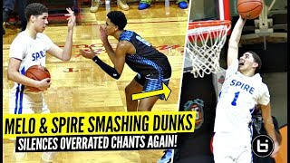 Download LaMelo Ball CLOWNIN' & TOYING w/ Defenders After Crowd Chants ″OVERRATED″!! Video