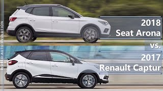 Download 2018 Seat Arona vs 2017 Renault Captur (technical comparison) Video