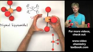 Download VSEPR Theory Part 2: Trigonal Bipyramidal Family Video