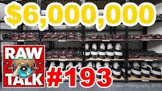 Download $6,000,000 in Canon Gear, 1500 Lenses 950 Bodies, Instagram Vs Snapchat: RAWtalk 193 Video