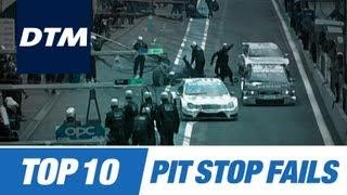 Download DTM Top 10 Pit Stop Fails Video