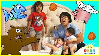 Download FUNNY DISASTER SURVIVAL Family Fun Kids Pretend Playtime with Twin Babies Video