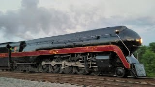 Download N&W 611 excursion train arriving in Lynchburg - May 6, 2017 Video