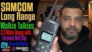 Download Samcom Long Range Walkie Talkies 🔊 : LGTV Review Video