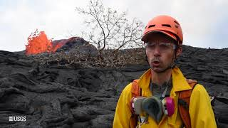 Download Kīlauea Volcano – USGS 24 Hour Watch: Monitoring Lava Flow Video