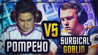 Download PRO vs PRO :: POMPEYO vs SURGICAL GOBLIN :: BEST OF 5 SHOWDOWN Video