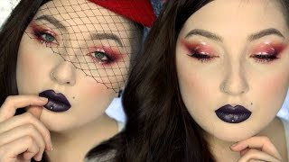 Download HOW TO Red Matte/Glossy Eyeshadow Makeup Tutorial Video