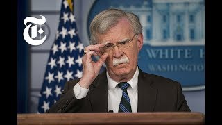 Download Why John Bolton Wants a Fringe Group to Rule Iran | NYT News Video